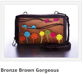 dompet mokamula bronze brown gorgeous