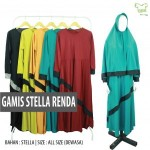 Supplier Gamis Stella Renda Dewasa Murah