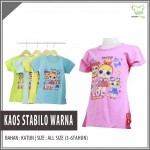 Supplier Kaos Stabilo Warna Anak Murah