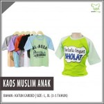 Supplier Kaos Muslim Anak Murah