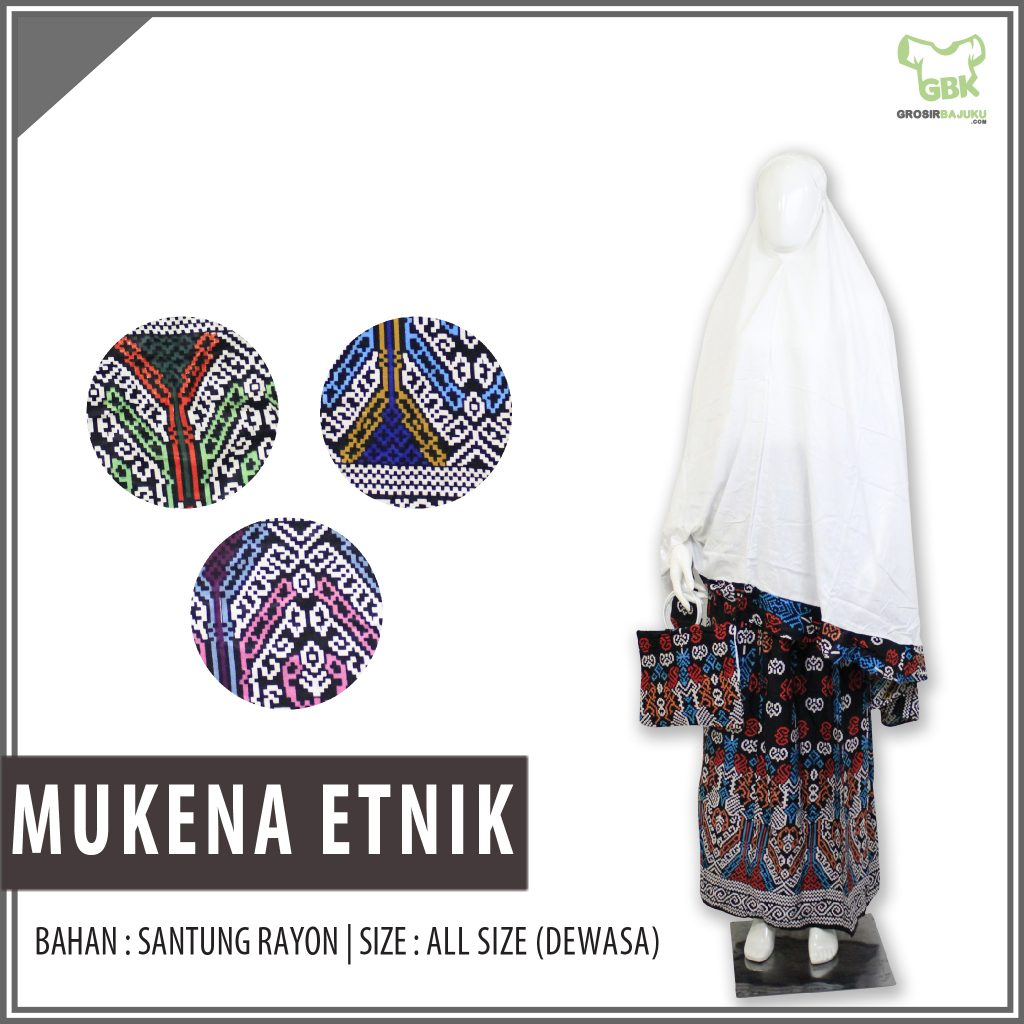 Supplier Mukena Etnik Murah